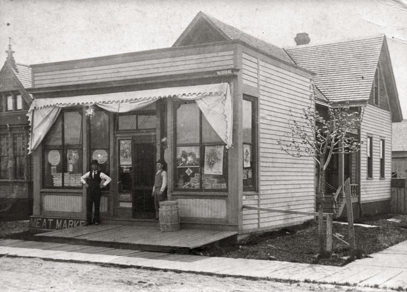 Volkert Grocery, Detroit, c. 1900