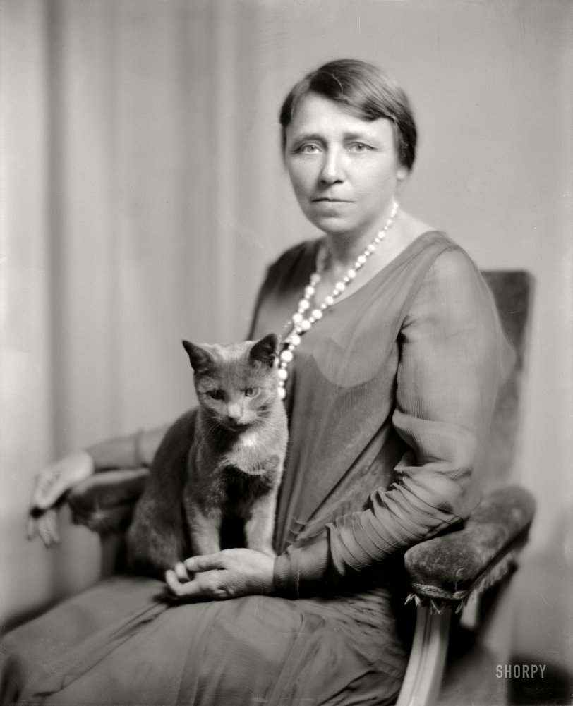 Hattie and the Cat: 1925