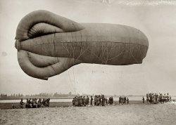 Army Balloon: 1918