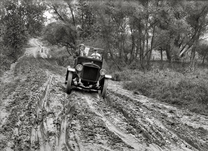 Road to Culpeper - 1920