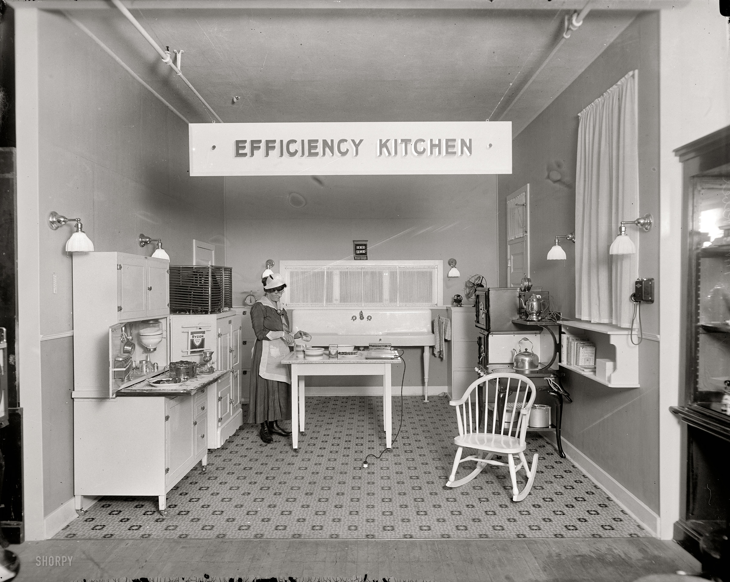Shorpy Historic Picture Archive Efficiency Kitchen