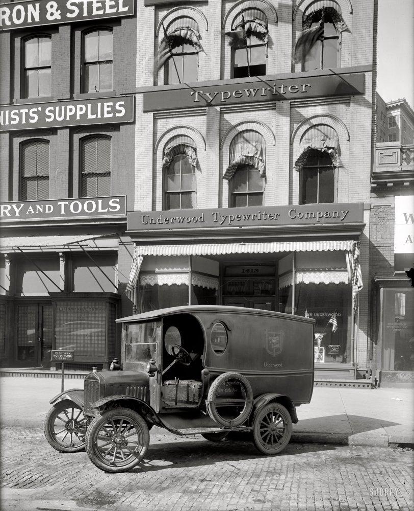 Qwerty Wagon: 1919