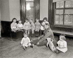 Foundling Tots: 1921