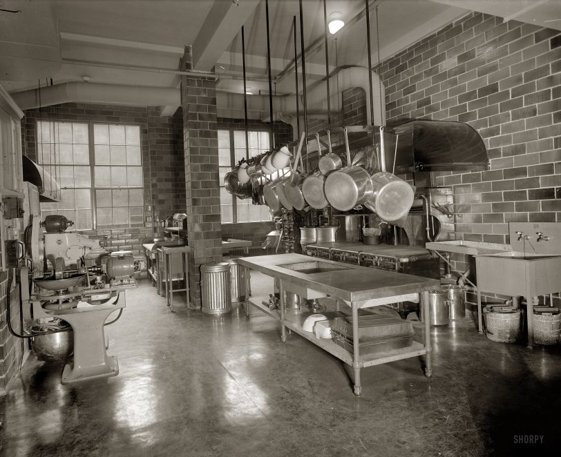 YWCA Kitchen: 1927