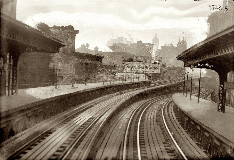 Third Avenue El: 1910