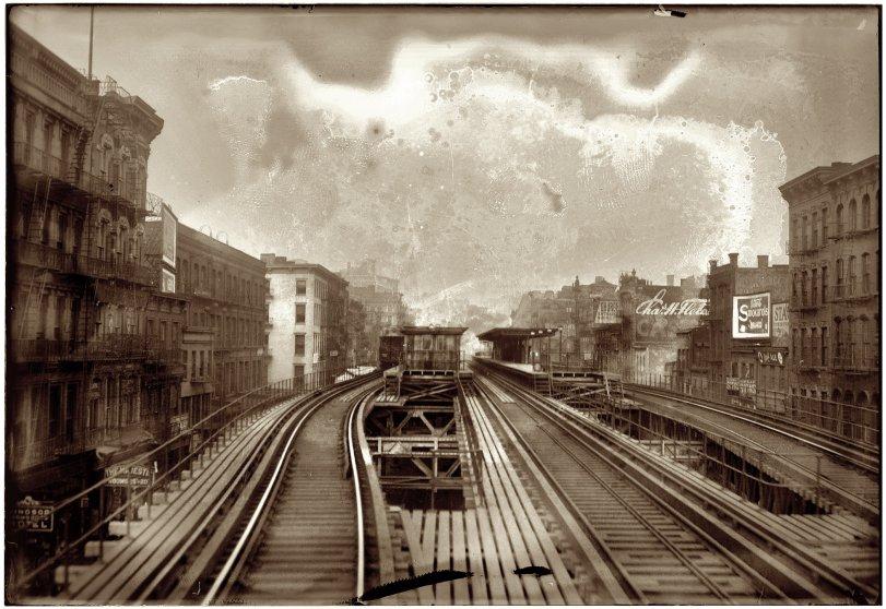 Third and Houston: 1910