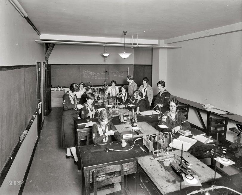 Freshman Chemistry: 1925