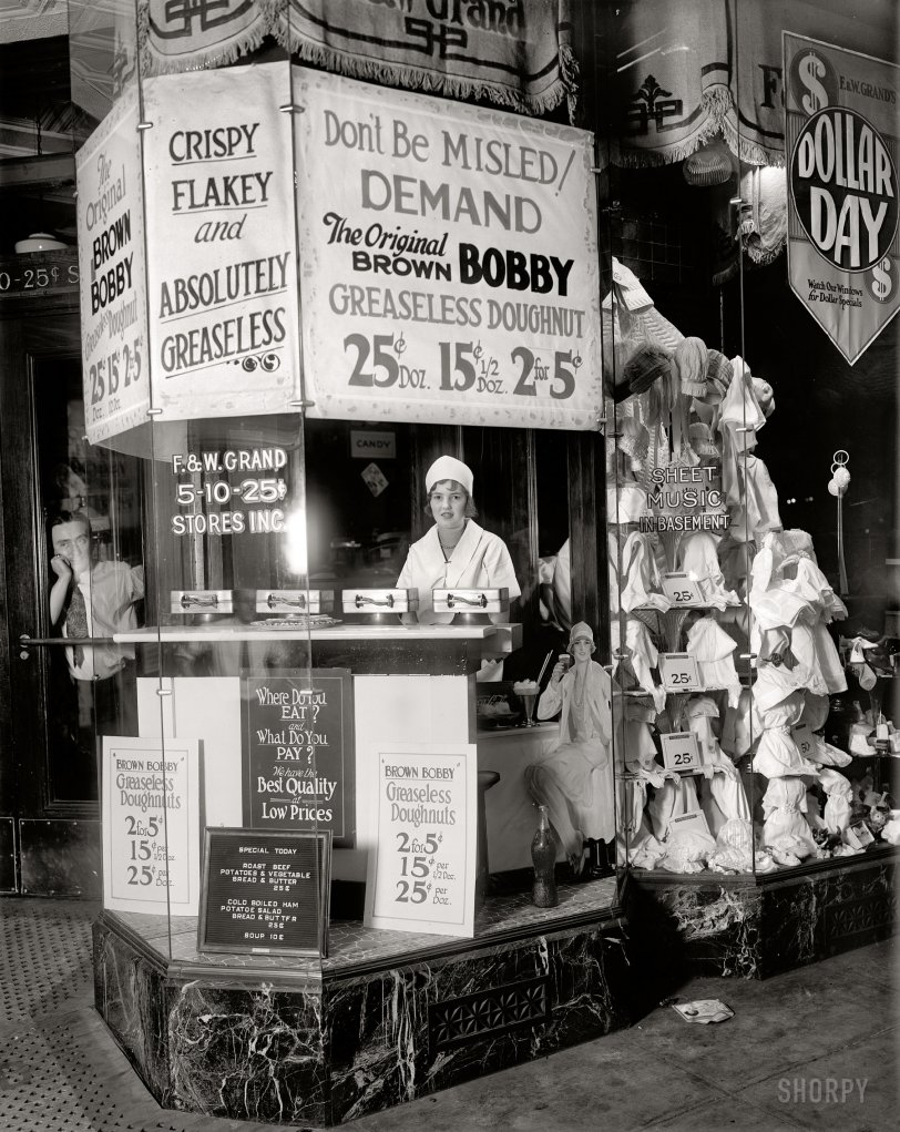 Brown Bobby: 1925