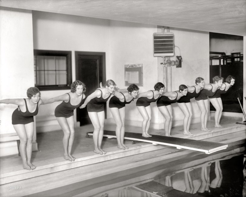 Poised to Make a Splash: 1930