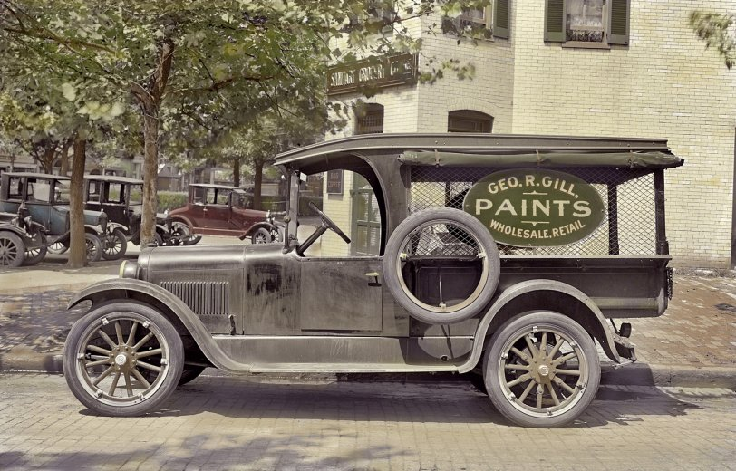 Dodge Screenside (Colorized): 1920