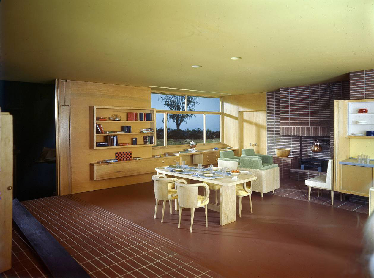 Shorpy Historic Picture Archive :: Model Home: 1946 high