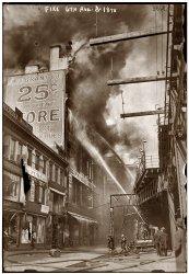 W.T. Grant Fire: 1916