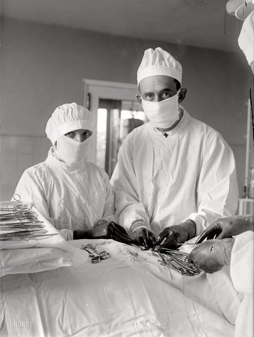 In Surgery: 1922