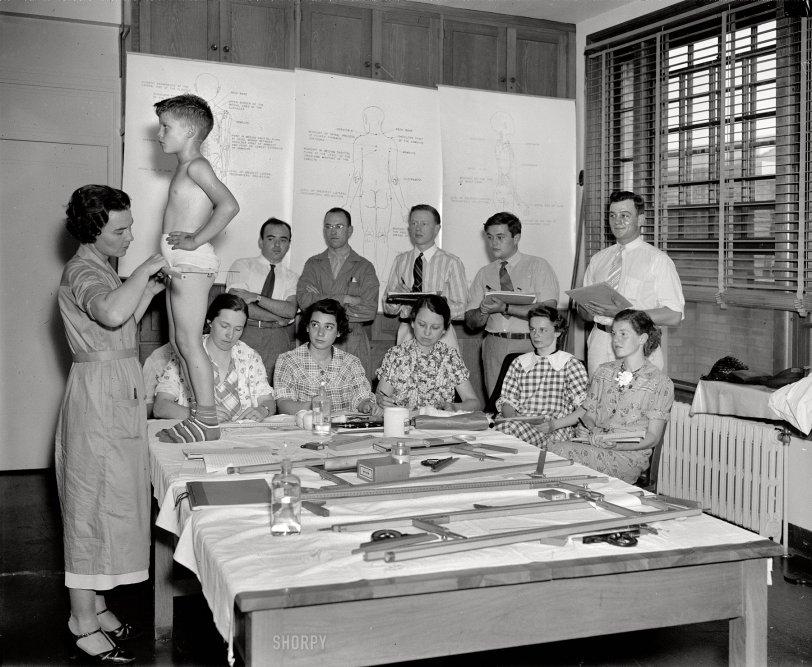 Measurements: 1937