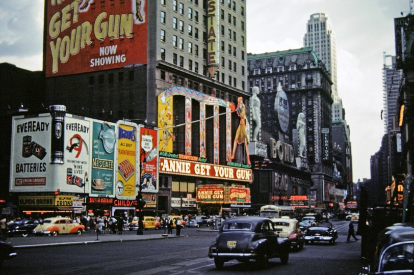 Broadway by Day: 1950