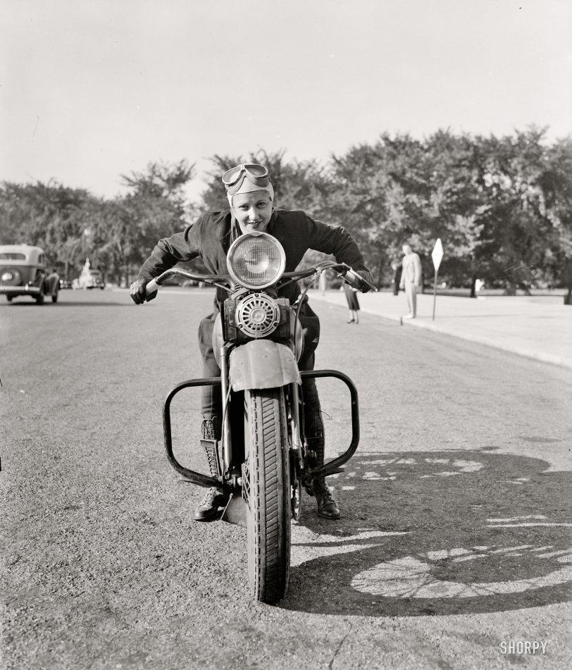Motorcycle Mama: 1937