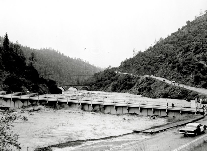 Hell Hole Reservoir Failure : 1964