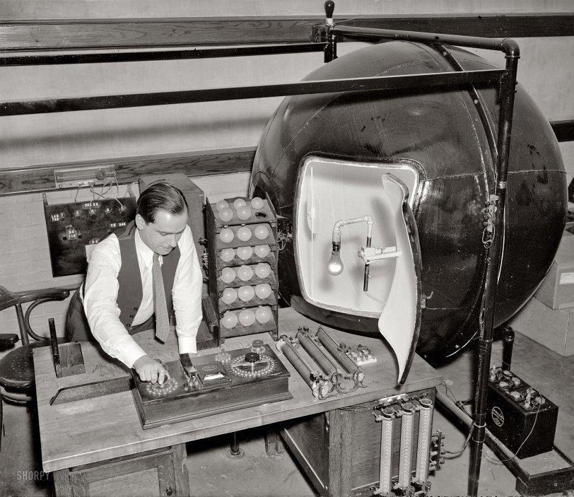 Desk Lamp: 1938