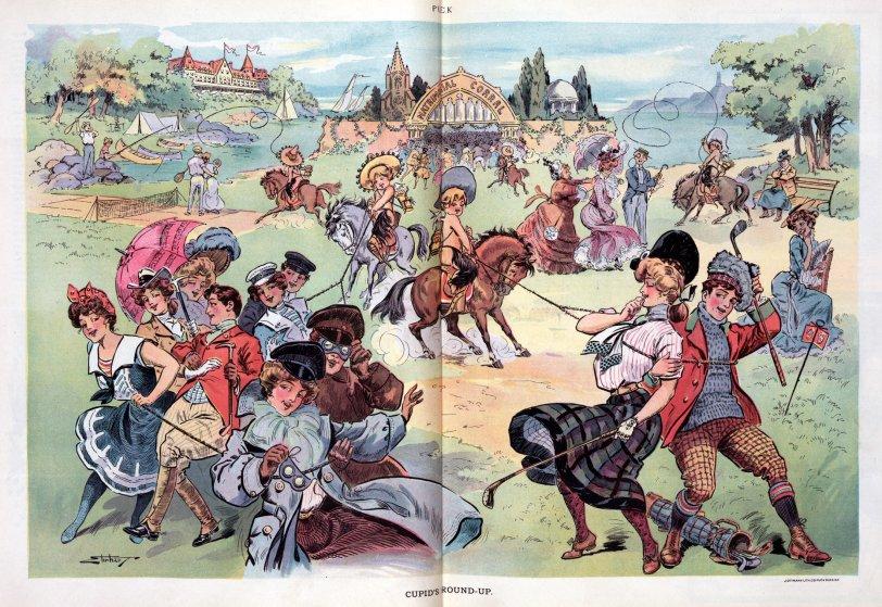 Cupid's Round-Up: 1903
