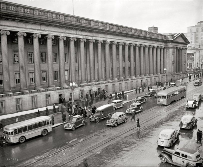 City Sidewalks: 1938