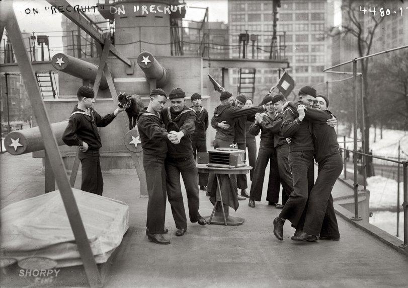 Men Overboard: 1917