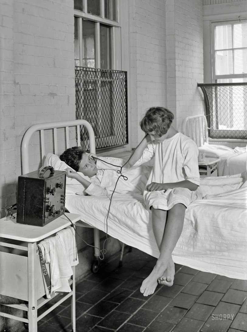 Hospital Hookup: 1924