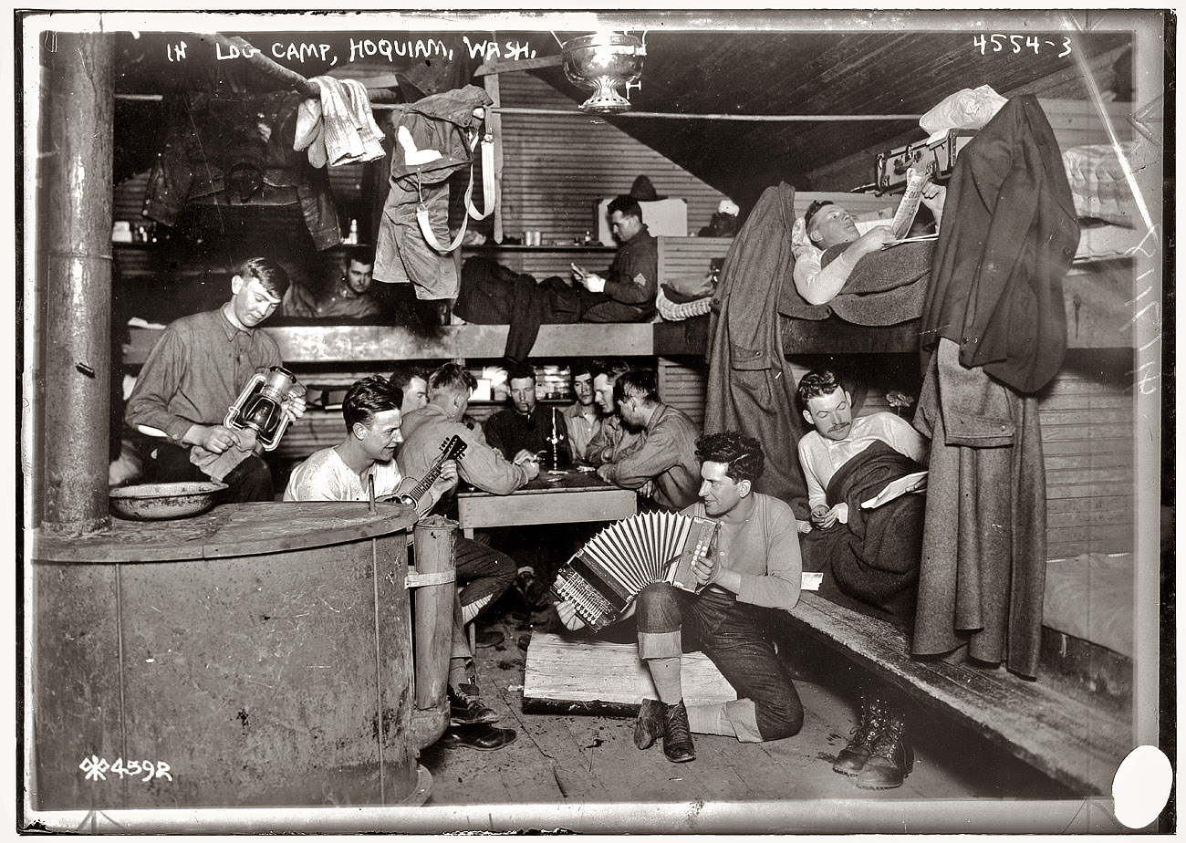Sawn Timbers Supply In Washington State ~ Shorpy historic picture archive the lumberjack song