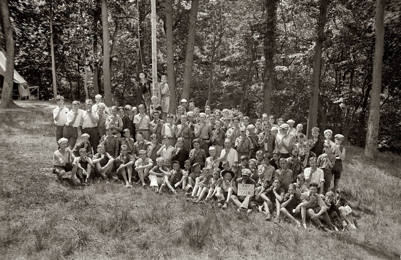 The Secret of Scout Camp: 1925