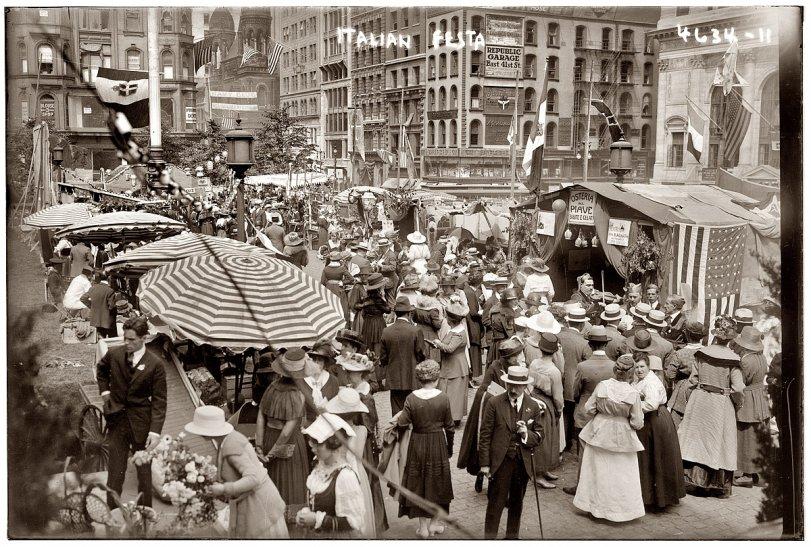 Italian Festa: 1918