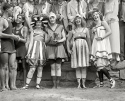 Bathing Beach Parade: 1919