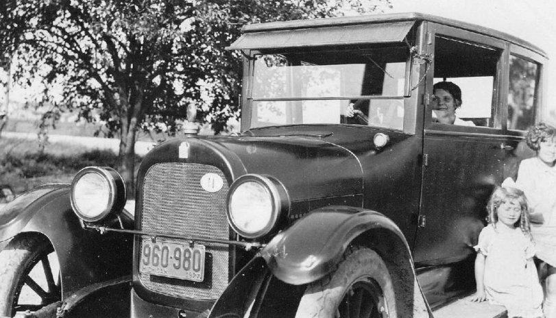 Grandma and Durant: 1927