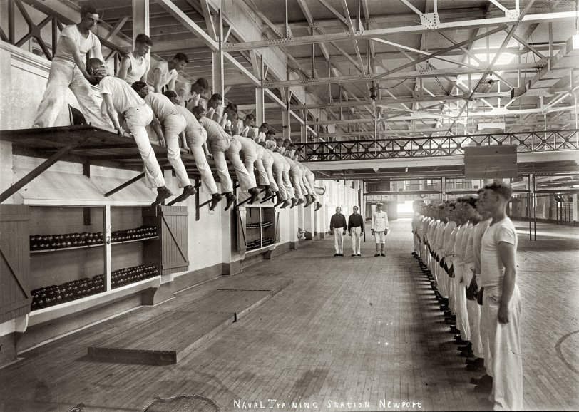 Naval Training: 1913