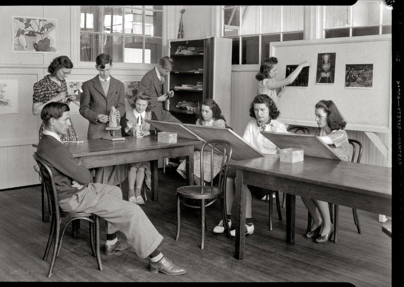 A Model Student: 1940