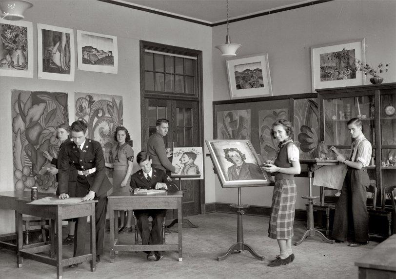 Anacostia Artistes: 1939