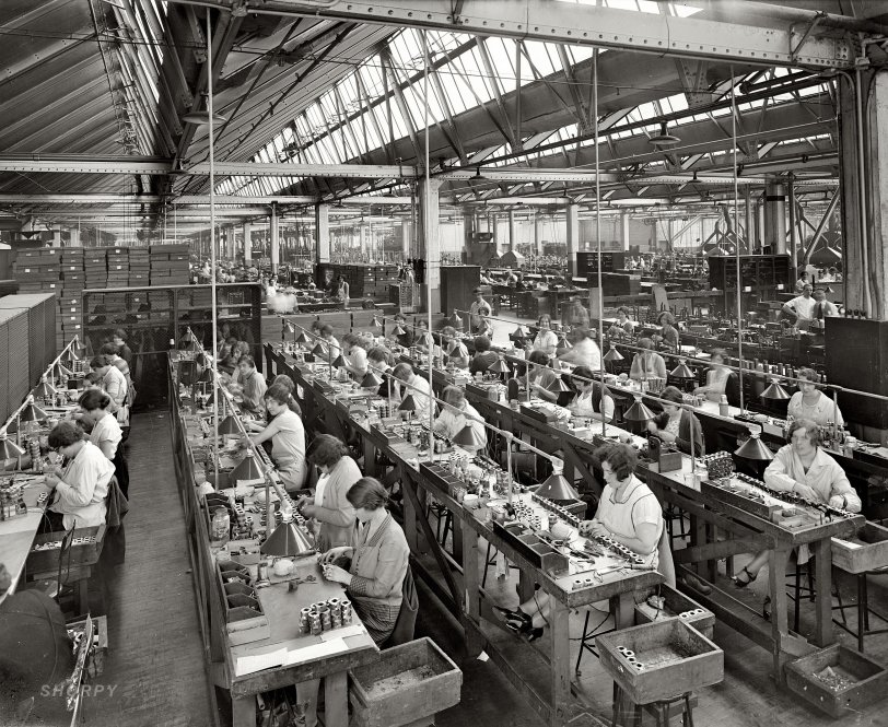 The Enormous Radio Factory: 1925