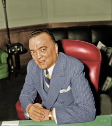 J. Edgar Hoover (colorized)