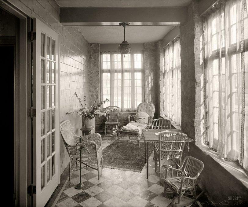 Sun Porch: 1920