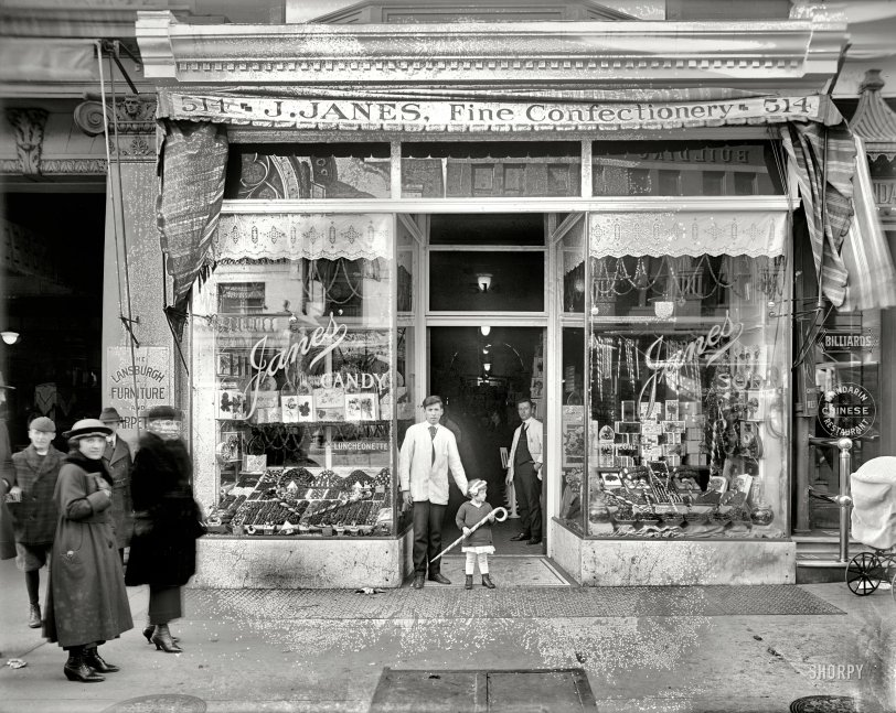 Janes Candy 1924 Shorpy Historical Photos