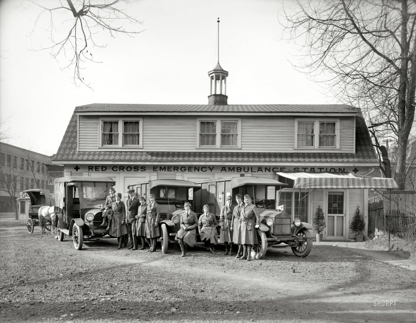 Ambulance Station: 1919
