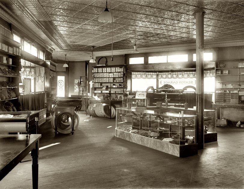 Seaton Garage: 1919