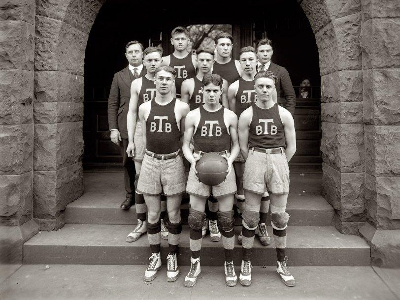 Tech Basketball: 1920