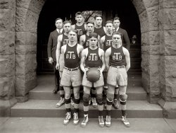 Tech Basketball: 1920