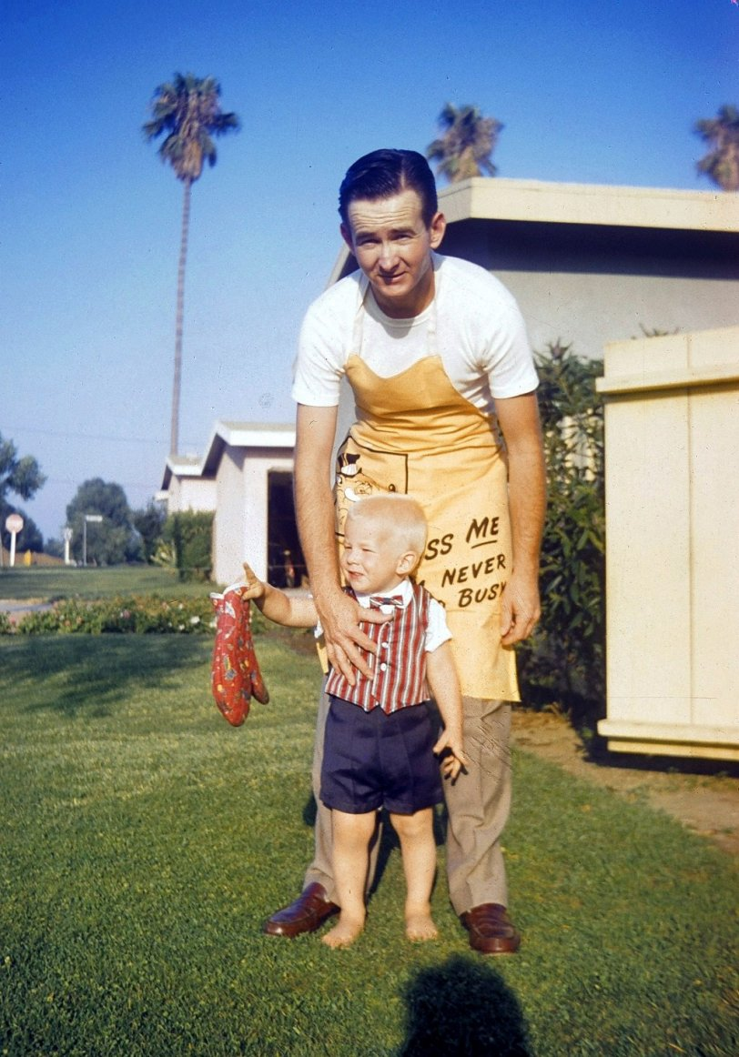 Dad and Me: 1957
