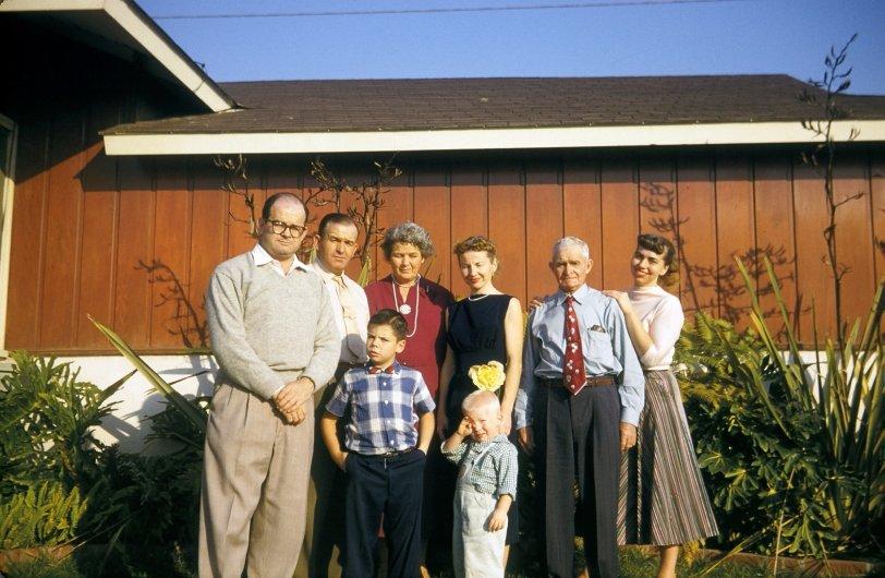 Family Gathering: 1958