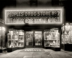 People's Drug No. 7: 1920