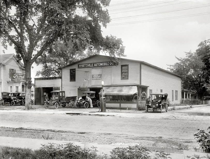 Shade Tree Mechanics: 1920