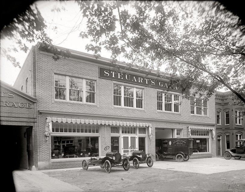 Steuart's Garage: 1920