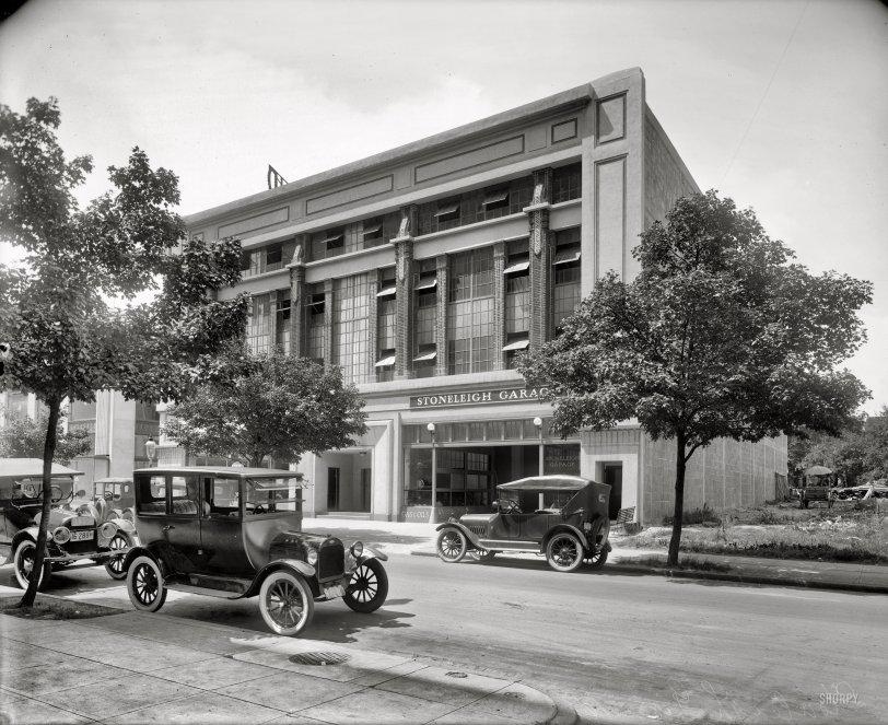 Stoneleigh Garage: 1921