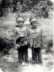 Two Little Indians: c. 1940