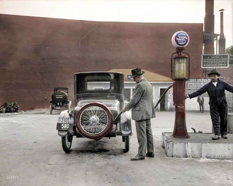 Self-Service (Colorized): 1920